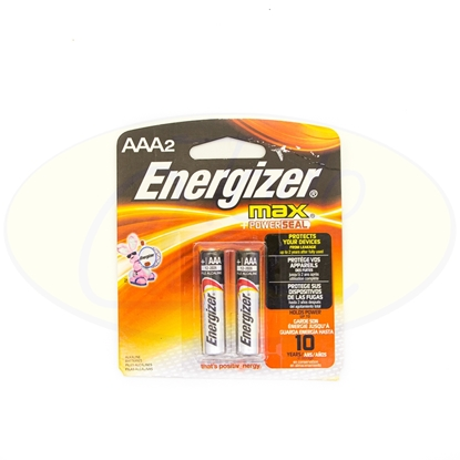 Picture of Pila Energizer Max AAA x2