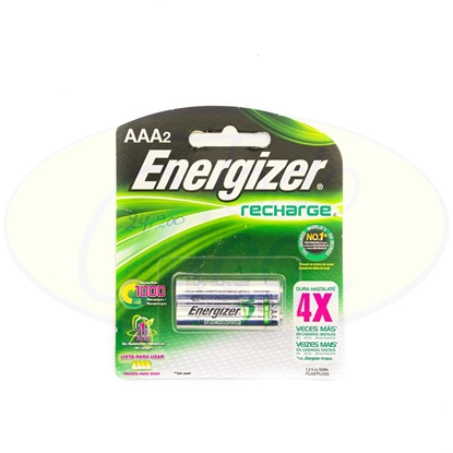 Picture of Pila Energizer Recharge AAA x 2