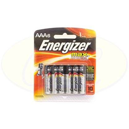 Picture of Pila Alcalina Energizer Max AAA x 6