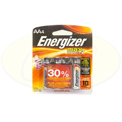 Picture of Pila Alcalina AAx4 Energizer