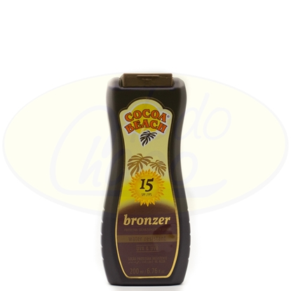 Picture of Locion Bronceadora 15FPS Cocoa Beach 200ml