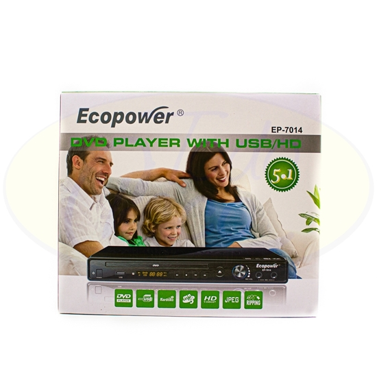 Picture of DVD  Player Ecopower EP-7010-7014