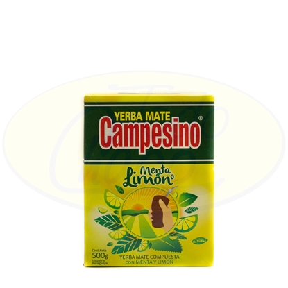 Picture of Yerba Campesino Menta Limon 500g