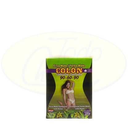 Picture of Yerba Mate Compuesta  Colon 90-60-90/250g