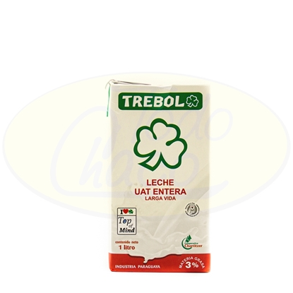 Picture of Leche Entera Trebol 1L