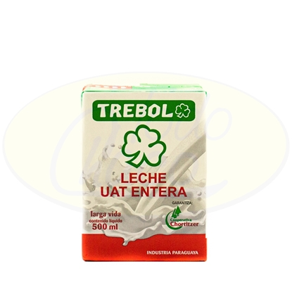 Picture of Leche Entera Trebol 500ml