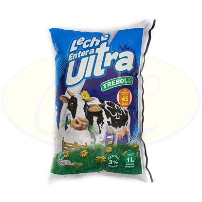 Picture of Leche Entera Ultra Trebol Sachet 1Litro