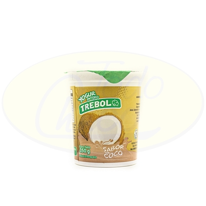 Picture of Yoghurt Entero Trebol Coco 350g