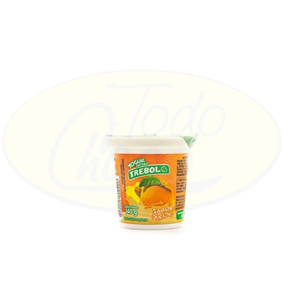 Picture of Yoghurt Entero Trebol Durazno 140g