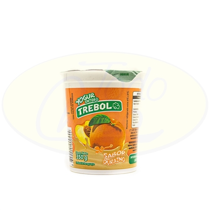 Picture of Yoghurt Entero Trebol Durazno 350g