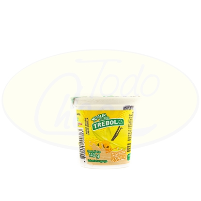 Picture of Yoghurt Entero Trebol Vainilla 140g