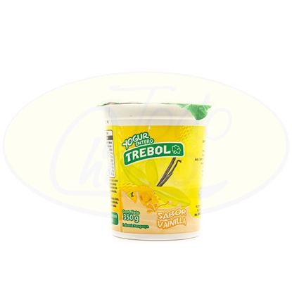 Picture of Yoghurt Entero Trebol Vainilla 350g