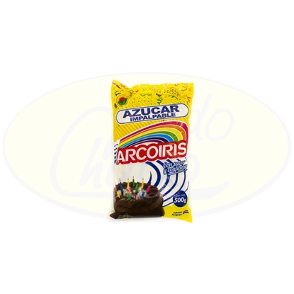 Picture of Azucar Impalpable Arcoiris 500g