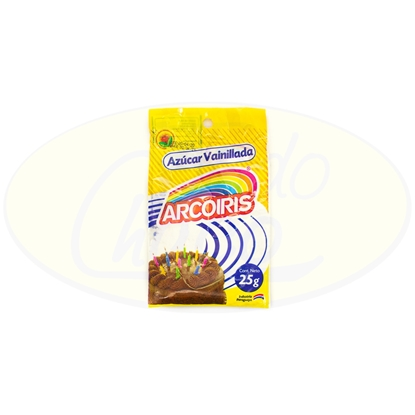 Picture of Azucar Vainillada Arcoiris 25g