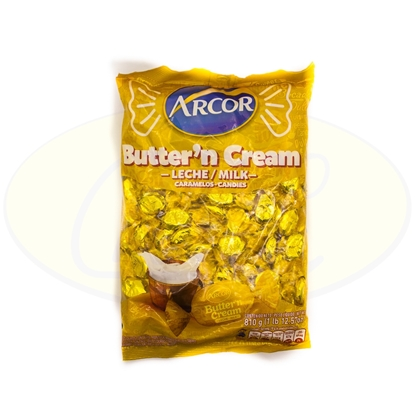 Picture of Caramelos Arcor Buttern Cream Leche 810g