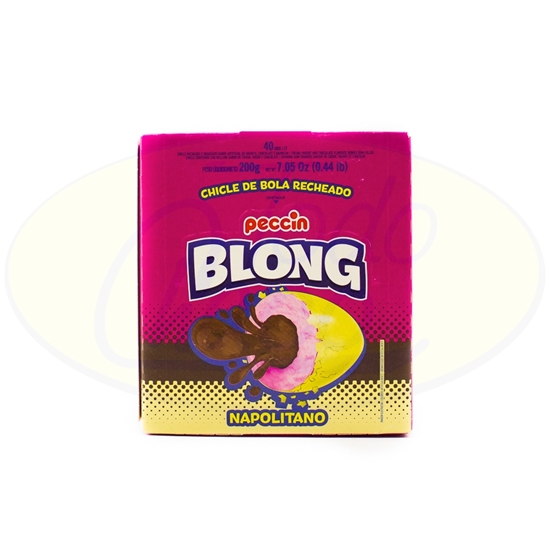 Picture of Chicle Blong Peccin Napolitano 200g