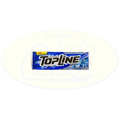 Picture of Chicle Topline Mentol 11g