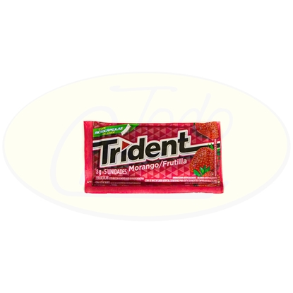 Picture of Chicle Trident Frutilla