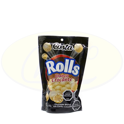 Picture of Chcolate Rolls Costa Blanco Crocante 140g