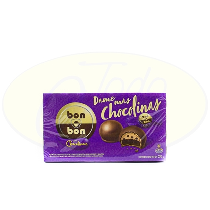 Picture of Chocolate Bon O Bon Chocolinas Arcor 270g