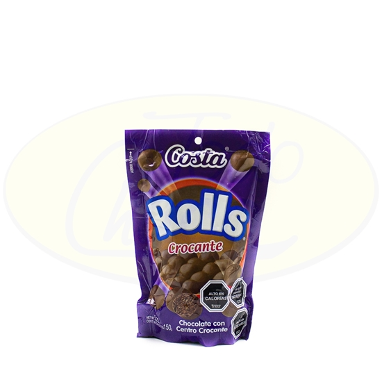 Picture of Chocolate Rolls Costa Crocante 150g