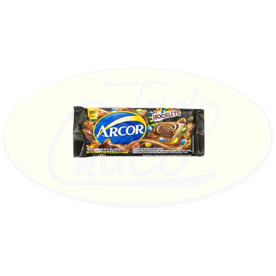 Picture of Chocolates Tabla Rocklets Arcor 80gr