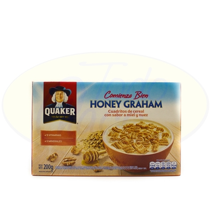 Picture of Cereal Quaker Honey Graham 200g