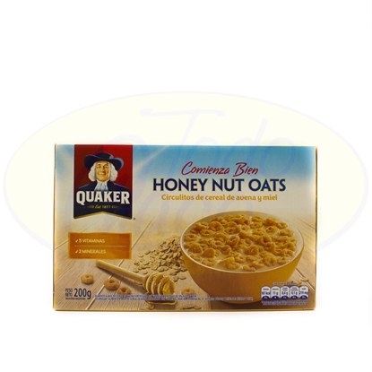 Picture of Cereal Quaker Honey Nut Oats 200g