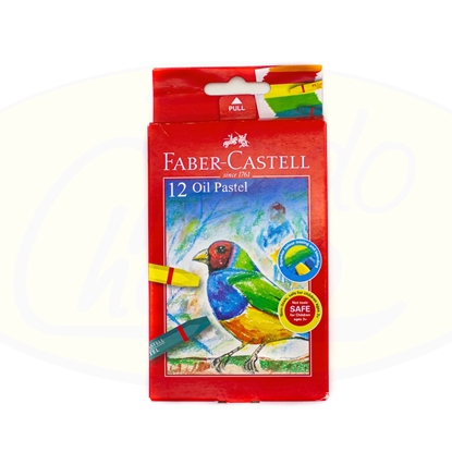 Picture of Crayola Faber-Castell Oil Pastel 12 Piezas