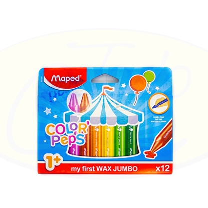 Picture of Crayola Maped Color Peps Jumbo 12 Unidades