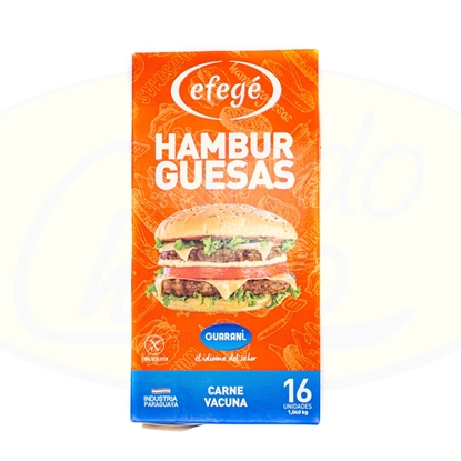 Picture of Hamburguesa Efege Guarani x 16