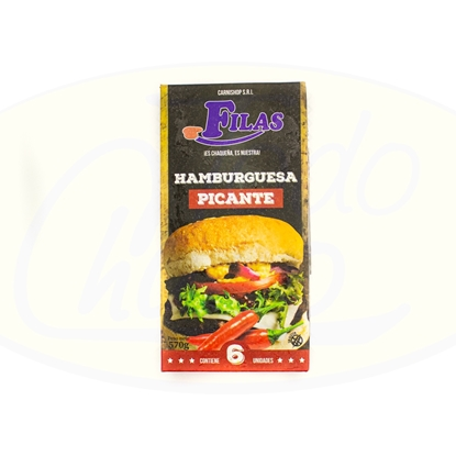Picture of Hamburguesa  Picante 6un 570gr Carni Shop