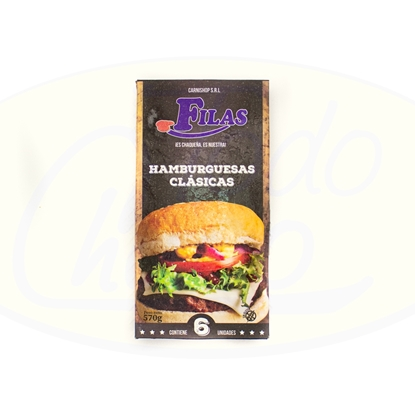 Picture of Hamburguesas Clasicas 6un 570gr Carni Shop