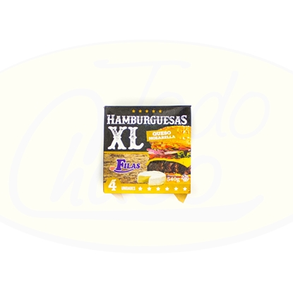 Picture of Hamburguesa Con Queso Carni Shop XL 4un 540g