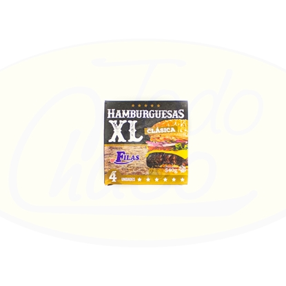 Picture of Hamburgesa Clasica XL 4un 520gr Carni Shop