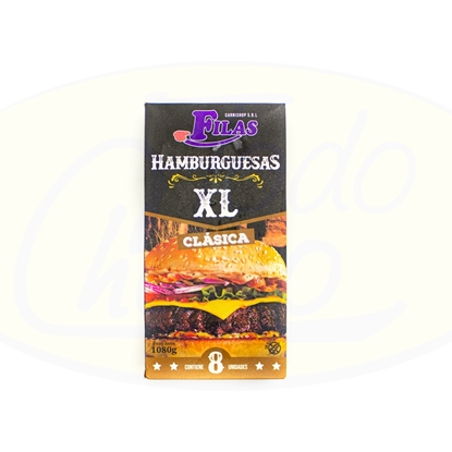 Picture of Hamburguesas Clasicas  XL 8un 1080 gr Carni Shop