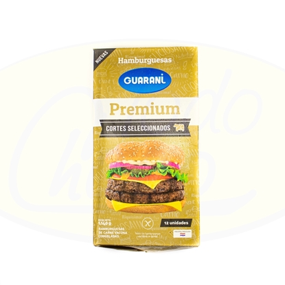 Picture of Hamburguesa Guarani Premium x 12