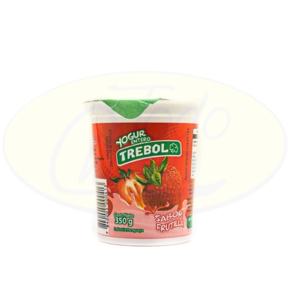Picture of Yoghurt Entero Trebol Frutilla 350ml