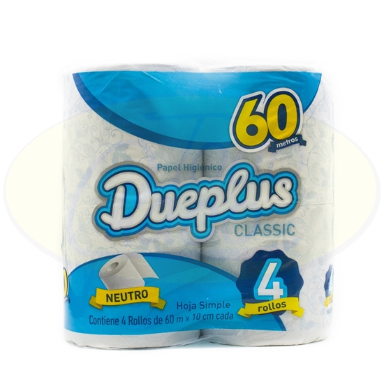 Picture of Papel Higirnico Dueplus Doble Classic 30mts