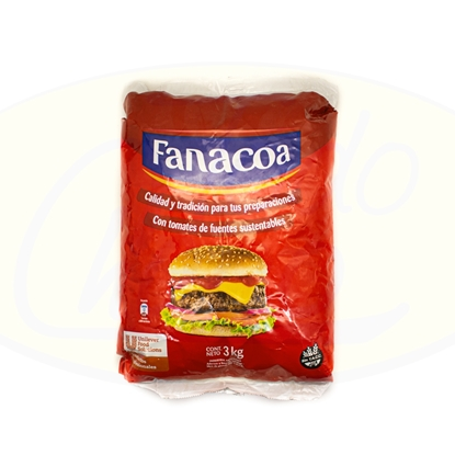 Picture of Ketchup Fanacoa 3 kg