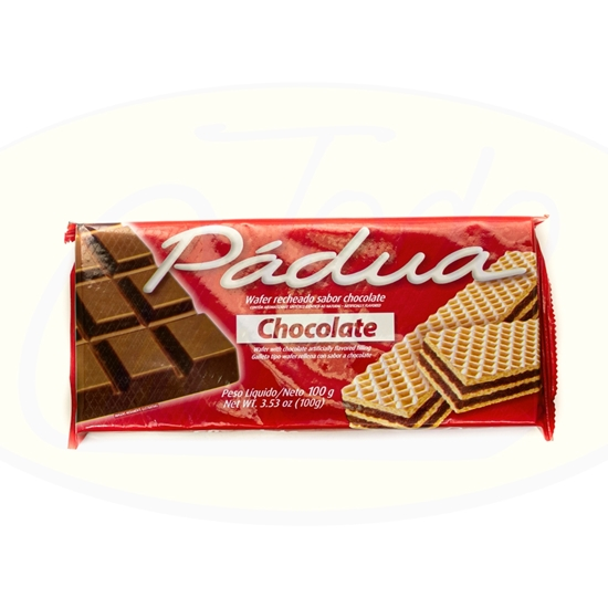 Picture of Galletitas Wafer Padua Chocolate 115gr