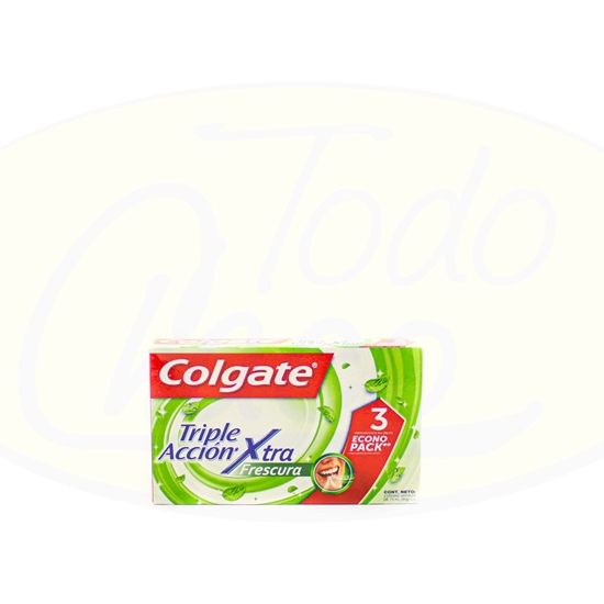 Picture of Colgate Triple Accion Xtra x 3u