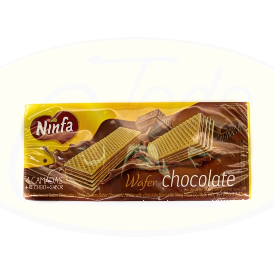 Picture of Galletitas Wafer Chocolate Ninfa 100g