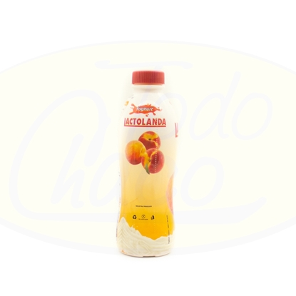 Picture of Yoghurt Lactolanda Durazno Botella 900 ml