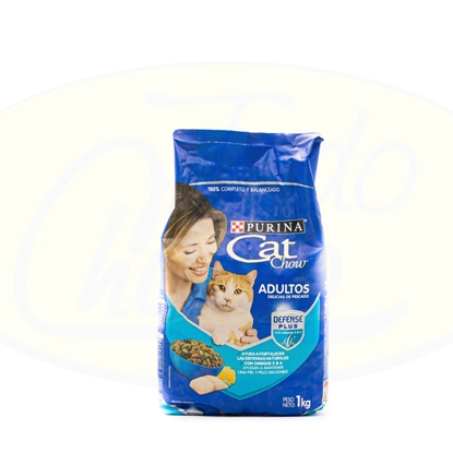 Picture of Cat Chow Adultos Pescado Defense Plus 1kg