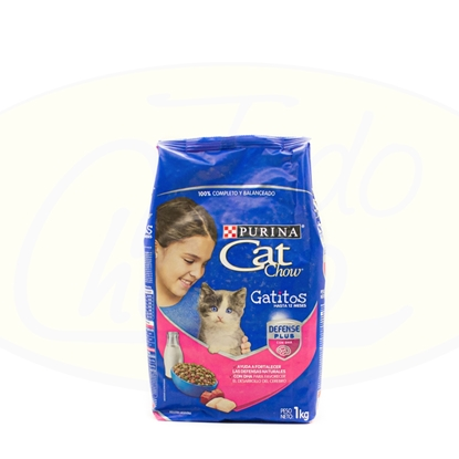 Picture of Purina Cat Chow Gatitos Defense Plus 1kg