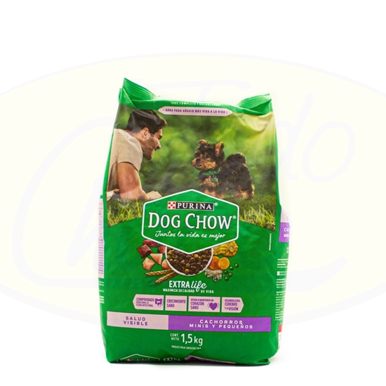 Picture of Dog Chow Cachorros Raza Pequeña 1.5kg
