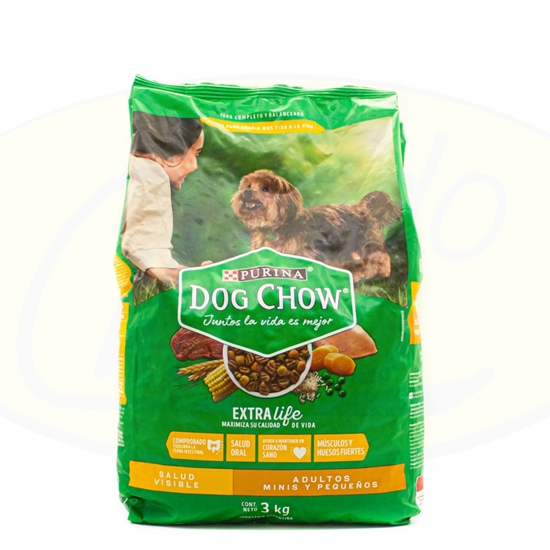 Picture of Purina Dog Chow Adultos Razas Pequeñas 3kg