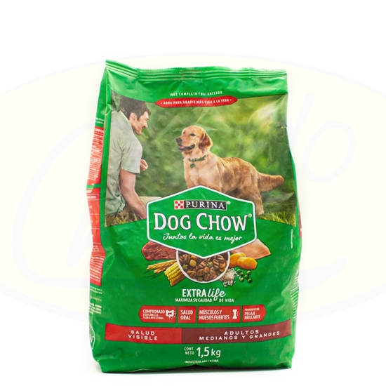 Picture of Purina Dog Chow Adultos 1.5kg