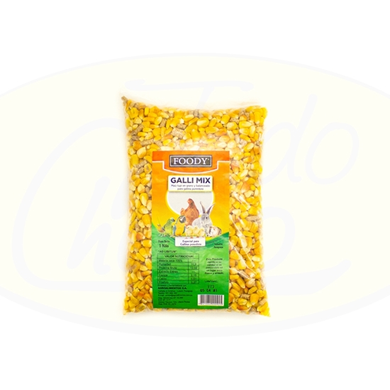 Picture of Alimento Para Aves Galli Mix Foody 1kg